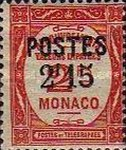 """[Postage Due Stamps Overprinted """"POSTES"""" or Surcharged Also, type CQ11]"""