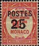 """[Postage Due Stamps Overprinted """"POSTES"""" or Surcharged Also, type CQ4]"""