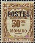 """[Postage Due Stamps Overprinted """"POSTES"""" or Surcharged Also, type CQ5]"""