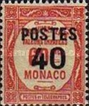 """[Postage Due Stamps Overprinted """"POSTES"""" or Surcharged Also, type CQ6]"""
