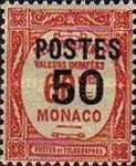 """[Postage Due Stamps Overprinted """"POSTES"""" or Surcharged Also, type CQ7]"""