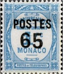 """[Postage Due Stamps Overprinted """"POSTES"""" or Surcharged Also, type CQ8]"""