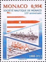 [The 125th Anniversary of the Société Nautique du Monaco, type DQB]