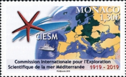[The 100th Anniversary of the CIESM - Mediterranean Science Commission, type EBS]