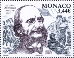 [The 200th Anniversary of the Birth of Jacques Offenbach, 1819-1880, type ECE]