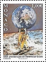 [The 50th Anniversary of the Apollo 11 Mission to the Moon, type ECP]
