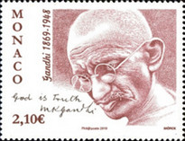 [The 150th Anniversary of the Death of Mahatma Gandhi, 1869-1948, type ECW]