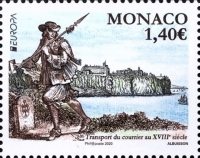[EUROPA Stamps - Ancient Postal Routes, type EDS]