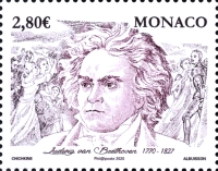 [The 250th Anniversary of the Birth of Ludwig van Beethoven, 1770-1827, type EDU]
