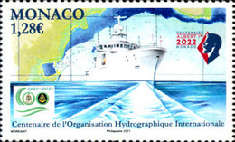 [The 100th Anniversary of the International Hydrographic Organization, type EEZ]