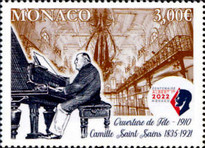 [The 100th Anniversary of the Death of Camille Saint Saens, 1835-1921, type EFB]