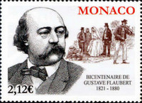 [The 200th Anniversary of the Birth of Gustave Flaubert, 1821-1880, type EFR]