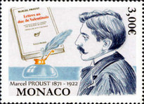 [The 150th Anniversary of the Birth of Marcel Proust, 1871-1922, type EFT]