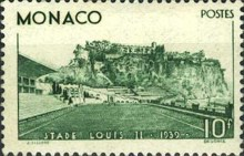 [Inauguration of Louis II Stadium, Monaco, type EG]