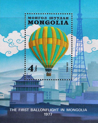[Airmail - The 200th Anniversary of Manned Flight - Balloons, type ]