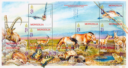 [Endangered Species of the Steppe Zone, type ]