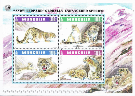 [Globally Endangered Species - Snow Leopard, type ]
