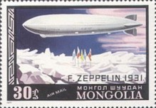 [Airmail - History of Airships and Balloons, type ANW]
