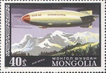 [Airmail - History of Airships and Balloons, type ANX]
