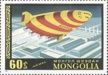 [Airmail - History of Airships and Balloons, type ANZ]