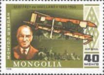 [Airmail - The 75th Anniversary of Powered Flight, type AOT]