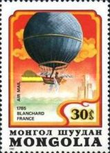 [Airmail - The 200th Anniversary of Manned Flight - Balloons, type AYW]