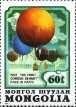 [Airmail - The 200th Anniversary of Manned Flight - Balloons, type AYZ]