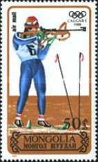 [Airmail - Winter Olympic Games - Calgary, Canada, type BOZ]