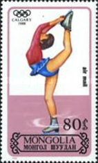 [Airmail - Winter Olympic Games - Calgary, Canada, type BPB]