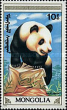 [The Giant Panda, type BXF]