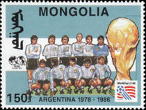 [Football World Cup - U.S.A. - Previous Winners, type CKW]