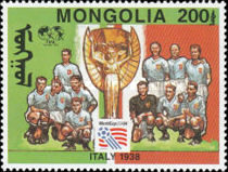 [Football World Cup - U.S.A. - Previous Winners, type CKX]