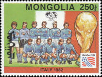[Football World Cup - U.S.A. - Previous Winners, type CLB]