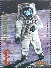 [The 25th Anniversary of First Manned Moon Landing, type CMI]