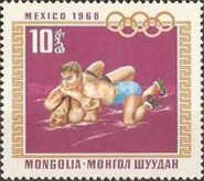 [Olympic Games - Mexico City, Mexico, type QZ]