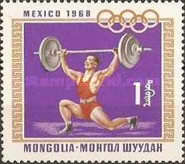 [Olympic Games - Mexico City, Mexico, type RF]