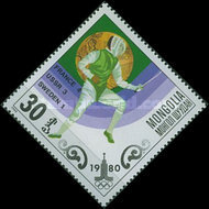 [Olympic Gold Medal Winners - Moscow, USSR, type ZVA]