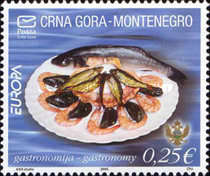 [EUROPA Stamps - Gastronomy, type AE]