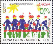 [EUROPA Stamps - Integration through the Eyes of Young People, type BA]