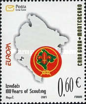 [EUROPA Stamps - The 100th Anniversary of Scouting, Typ BM]