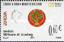 [EUROPA Stamps - The 100th Anniversary of Scouting, Typ BO]