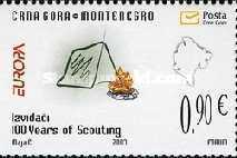 [EUROPA Stamps - The 100th Anniversary of Scouting, Typ BP]