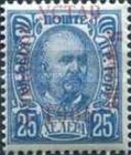 [No 41-50 Overprinted - 1905 Higher than C in Constitution - YCTAB 10½mm long, type G34]