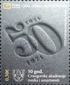 [The 50th Anniversary of the Montenegro Academy of Science and Arts, type OI]