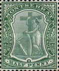 [Symbol of the Colony, King Edward VII - New Watermark, type B10]