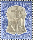 [Symbol of the Colony, King Edward VII - New Watermark, type B13]