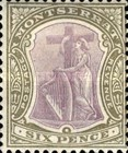 [Symbol of the Colony, King Edward VII - New Watermark, type B15]
