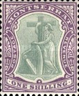 [Symbol of the Colony, King Edward VII - New Watermark, type B16]