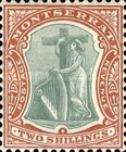[Symbol of the Colony, King Edward VII - New Watermark, type B17]