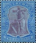 [Symbol of the Colony, King Edward VII - New Colours, type B27]